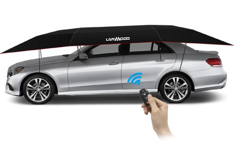 ما هي بعض مزايا استخدام غطاء السيارة Lanmodo الذكي؟