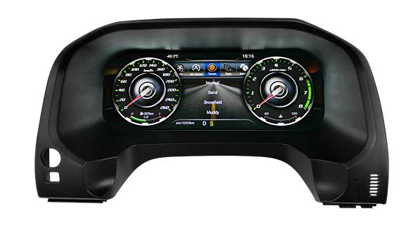 لوحة العدادات من Lanmodo Race لسيارة تويوتا برادو - لوحة العدادات بشاشة عرض LCD Full بحجم 12.3 بوصة