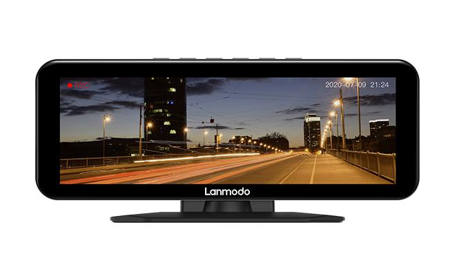 جهاز Lanmodo Vast Pro: جهاز الرؤية الليلية بكاميرا مثبته على لوحة القيادة بدقة 1080 بيكسل